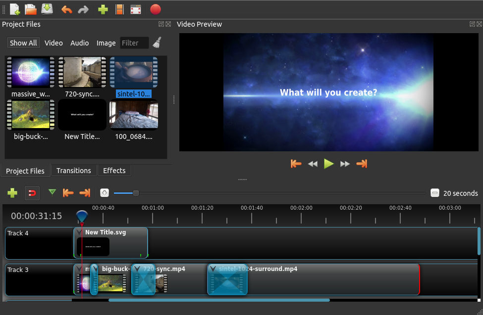 OpenShot Video Editor - Free and open-source video editorOpenShot Video Editor - Free and open-source video editor