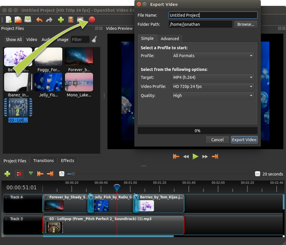 OpenShot Video Editor - Free and open-source video editor