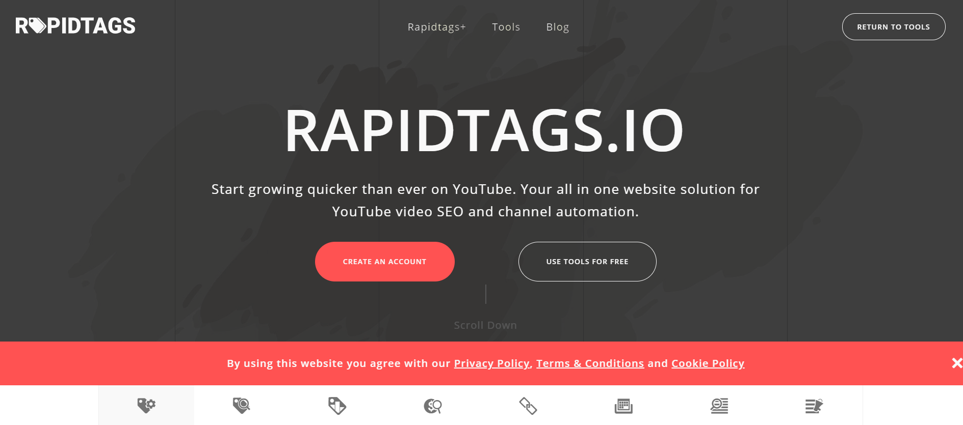 Rapidtags - Grow quicker on YouTube