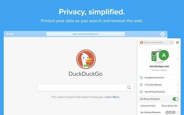 DuckDuckGo Privacy Essentials - Extensions
