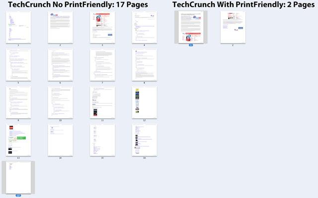 Print Friendly & PDF - Extension