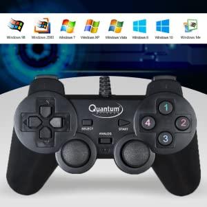 Quantum QHM7468 USB Gamepad with Dual Vibration