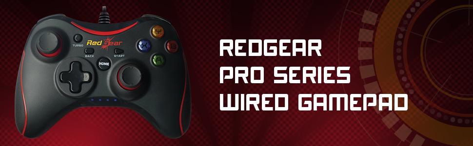 Redgear Pro Wired & Wireless Gamepad (Windows 788.110)
