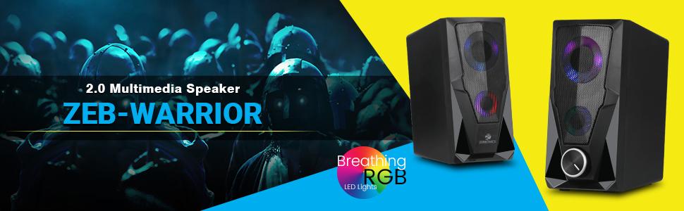 Zebronics Zeb-Warrior 2.0 Multimedia Speaker