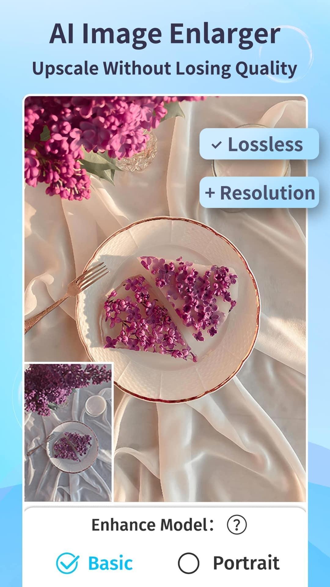 EnhanceFox - AI Photo Enhancer to Better Quality