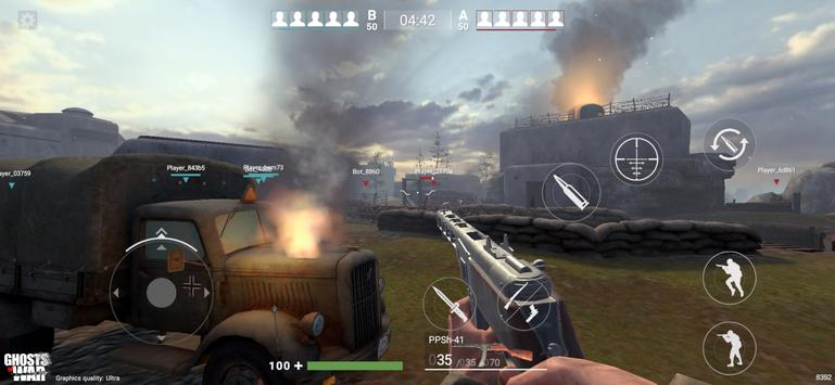 Ghosts of War Battle Royale WW2 Shooting games
